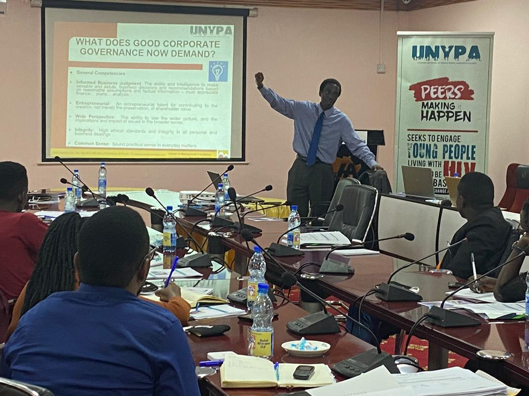 Corporate Governance training for UNYPA